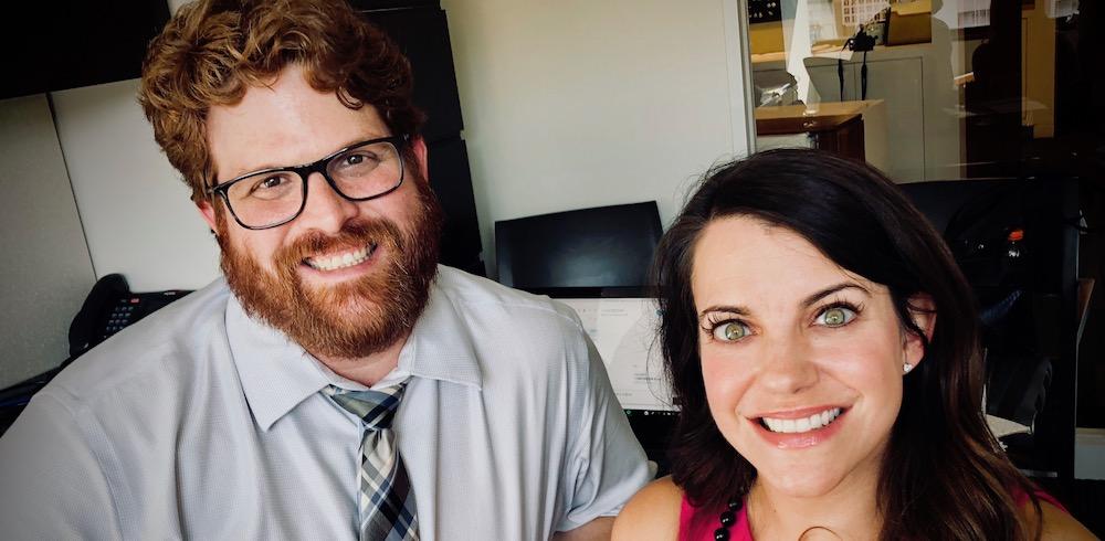 Peter Aiello and Sarah Milligan